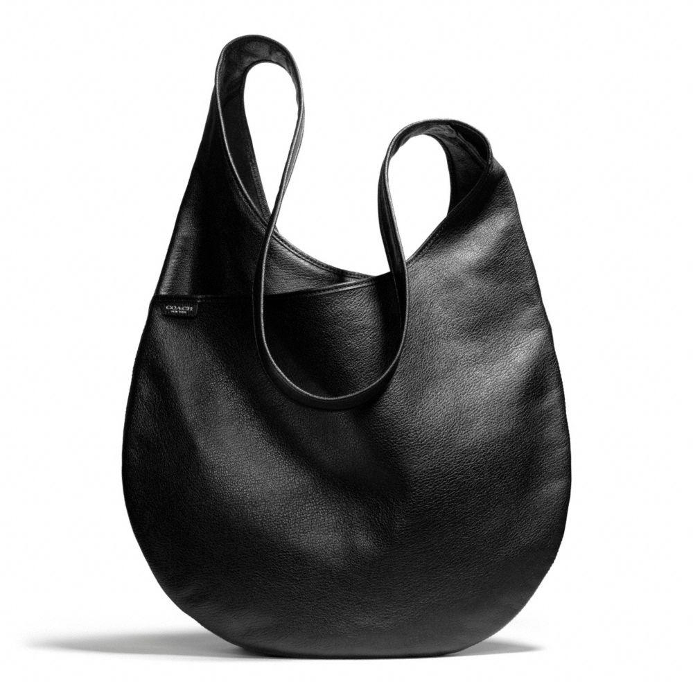 Lyst - Coach Bleecker Sling Bag in Leather in Black