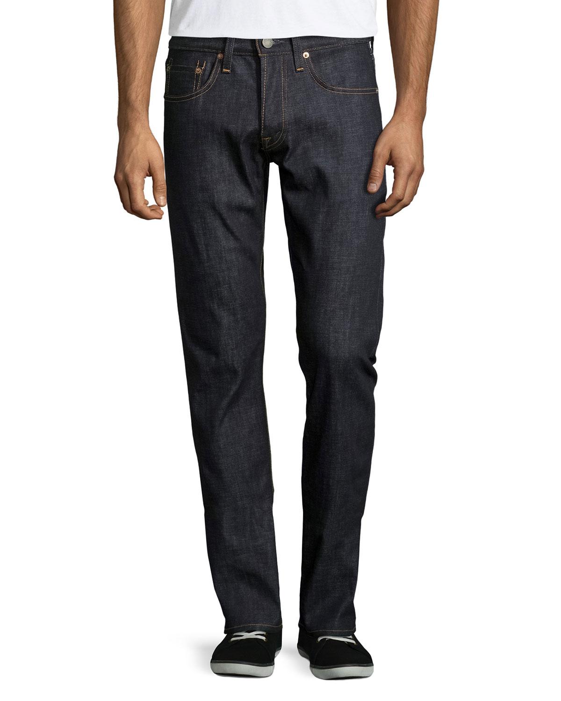j brand tyler slim fit jeans in gray for men lyst. Black Bedroom Furniture Sets. Home Design Ideas