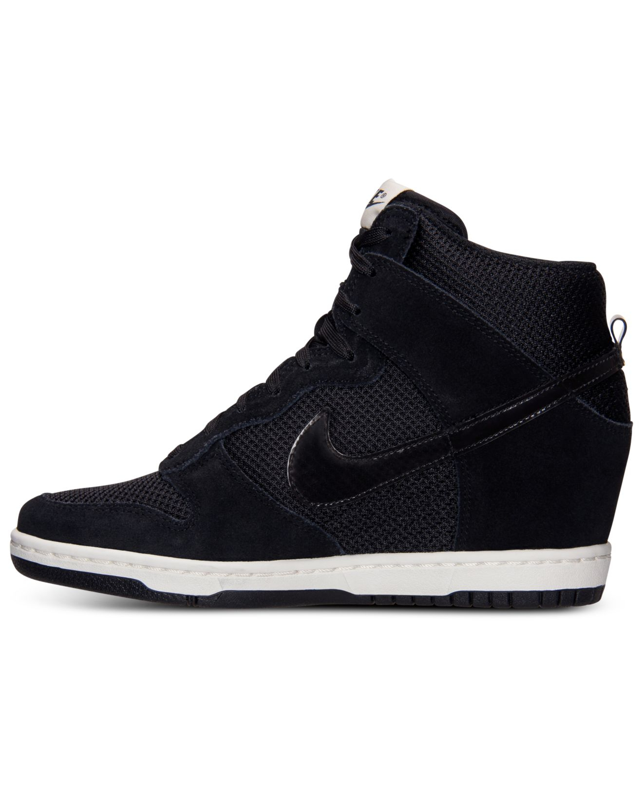 size 40 0837b 18de6 ... low price previously sold at macys womens nike dunk sky hi . 7ffe9 f1618