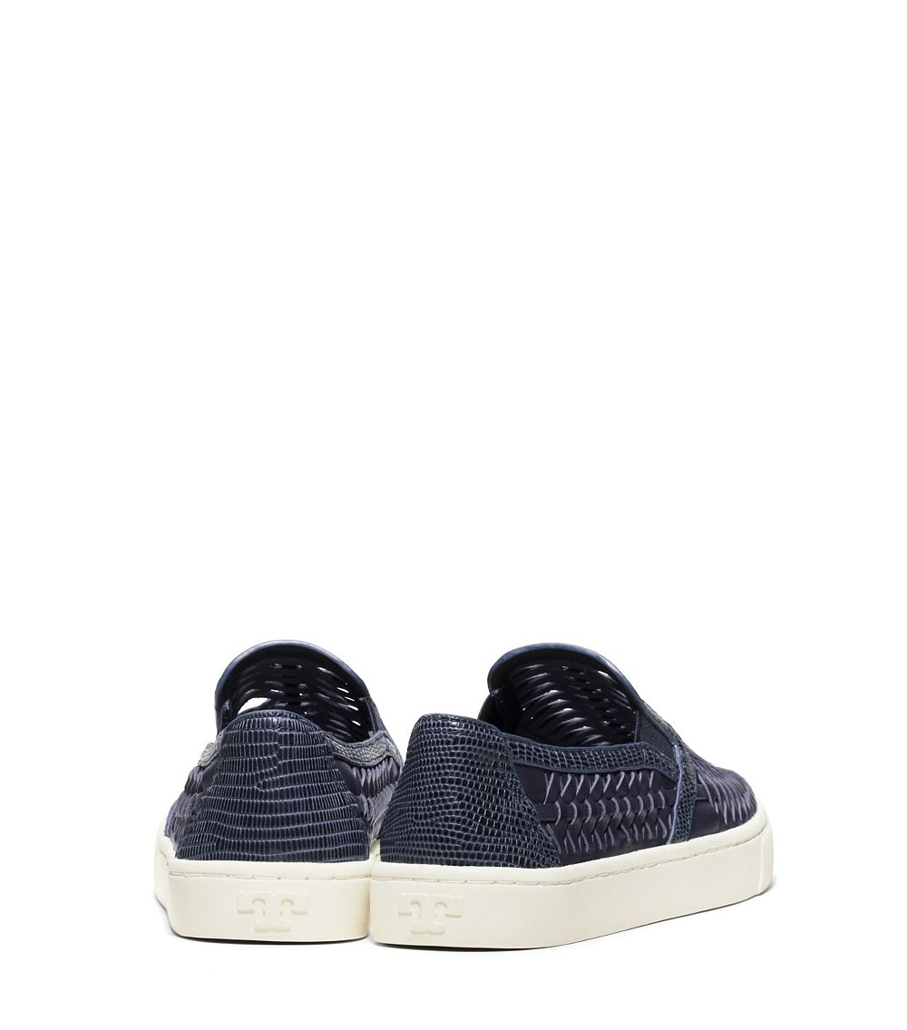 73968ede210b Lyst - Tory Burch Huarache Slip-On Sneaker in Blue
