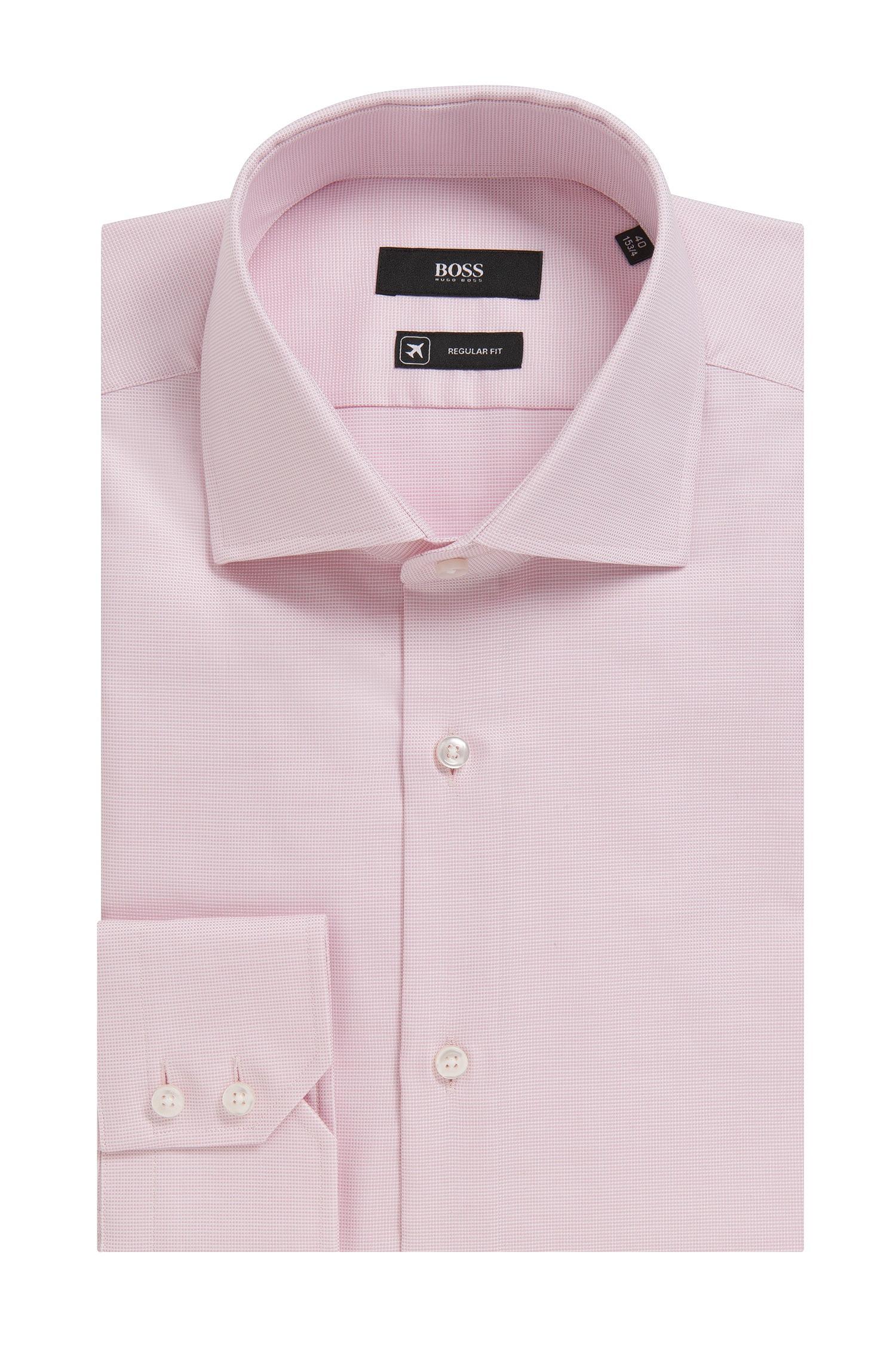Boss 39 gerald 39 regular fit fresh active traveler dress for Regular fit dress shirt