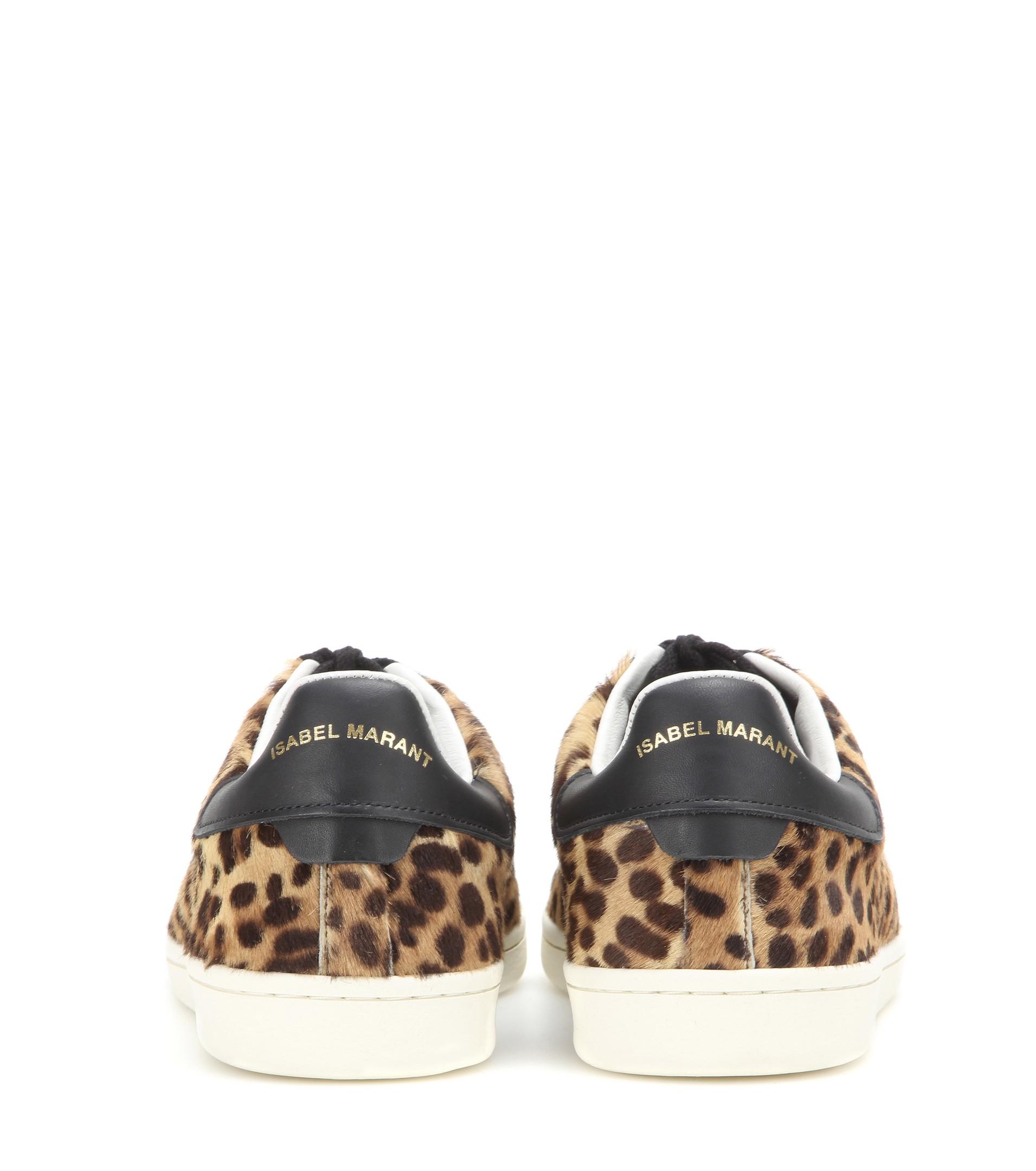 5c0ac7c87755 Isabel Marant Étoile Bart Calf Hair Sneakers - Lyst