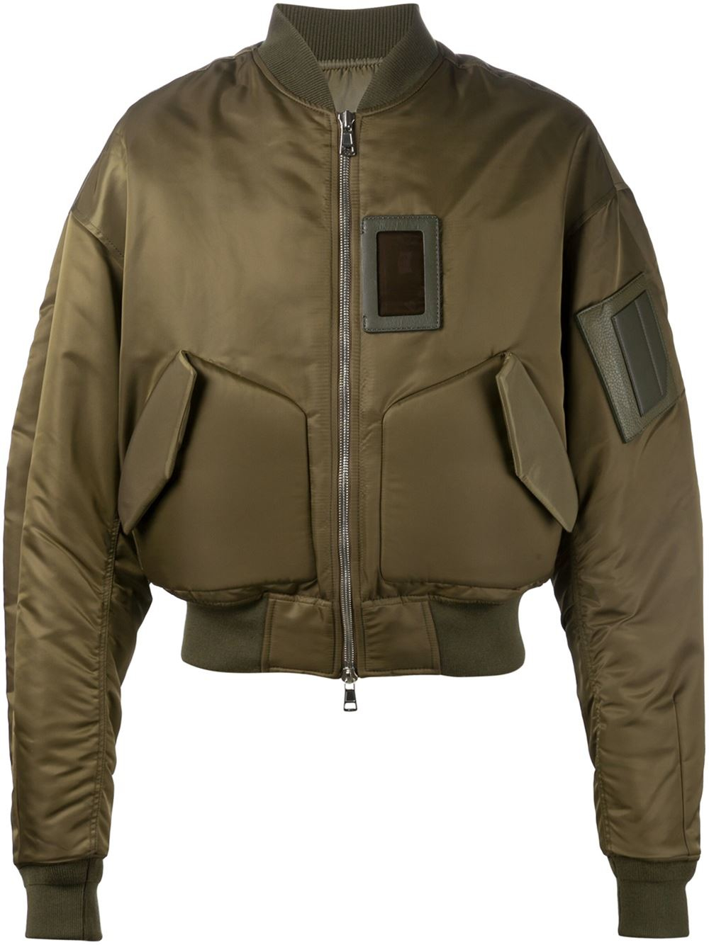 Juun.j Bomber Jacket in Natural for Men (green)