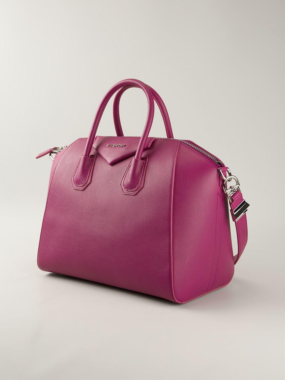 Lyst - Givenchy Medium  Antigona  Tote in Purple 543122c192f14