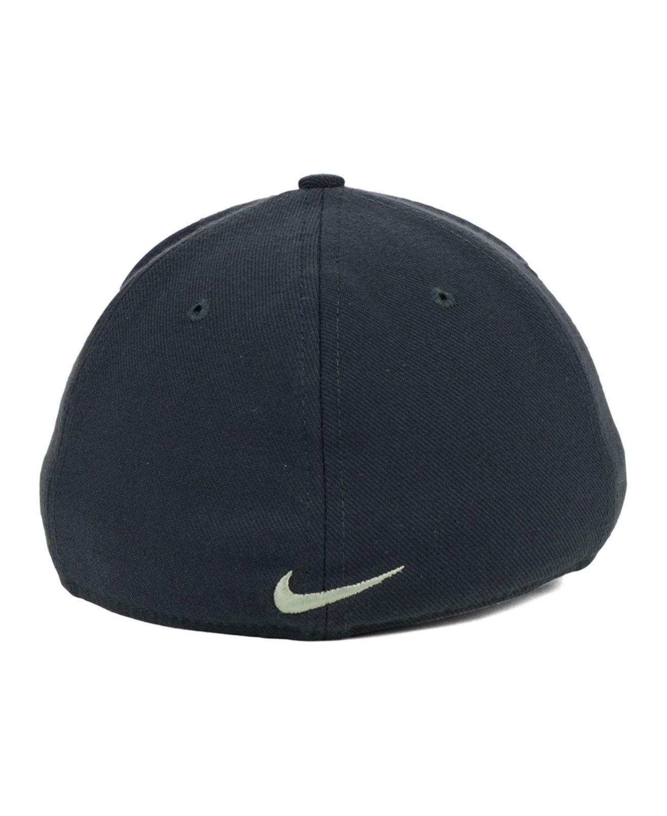 Lyst - Nike Army Black Knights True Platinum Swooshflex Cap in Gray ... e9864f3160b7