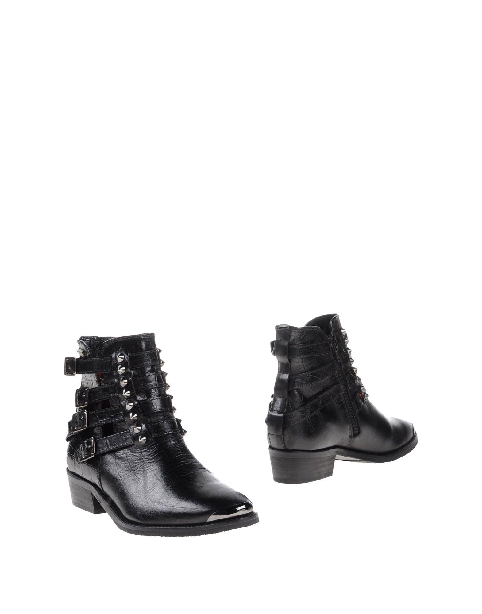 Original Jeffrey Campbell Women39S Ankle Boots Boots Jeans Blue Pezzi
