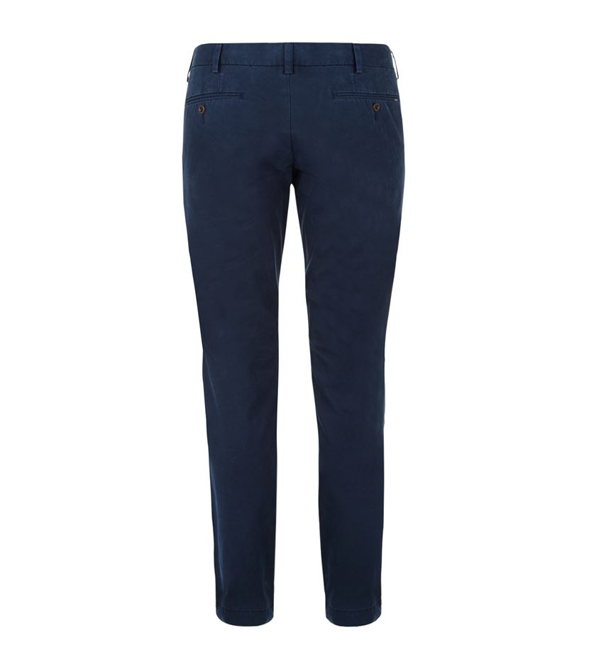 polo ralph lauren blue slim fit newport pants for men lyst. Black Bedroom Furniture Sets. Home Design Ideas