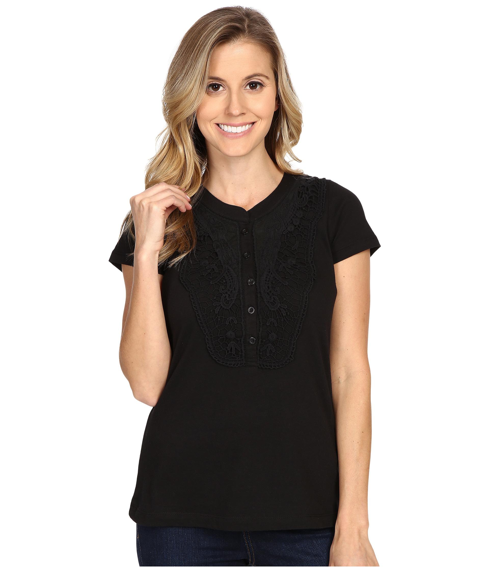 aventura clothing lulu top in black lyst