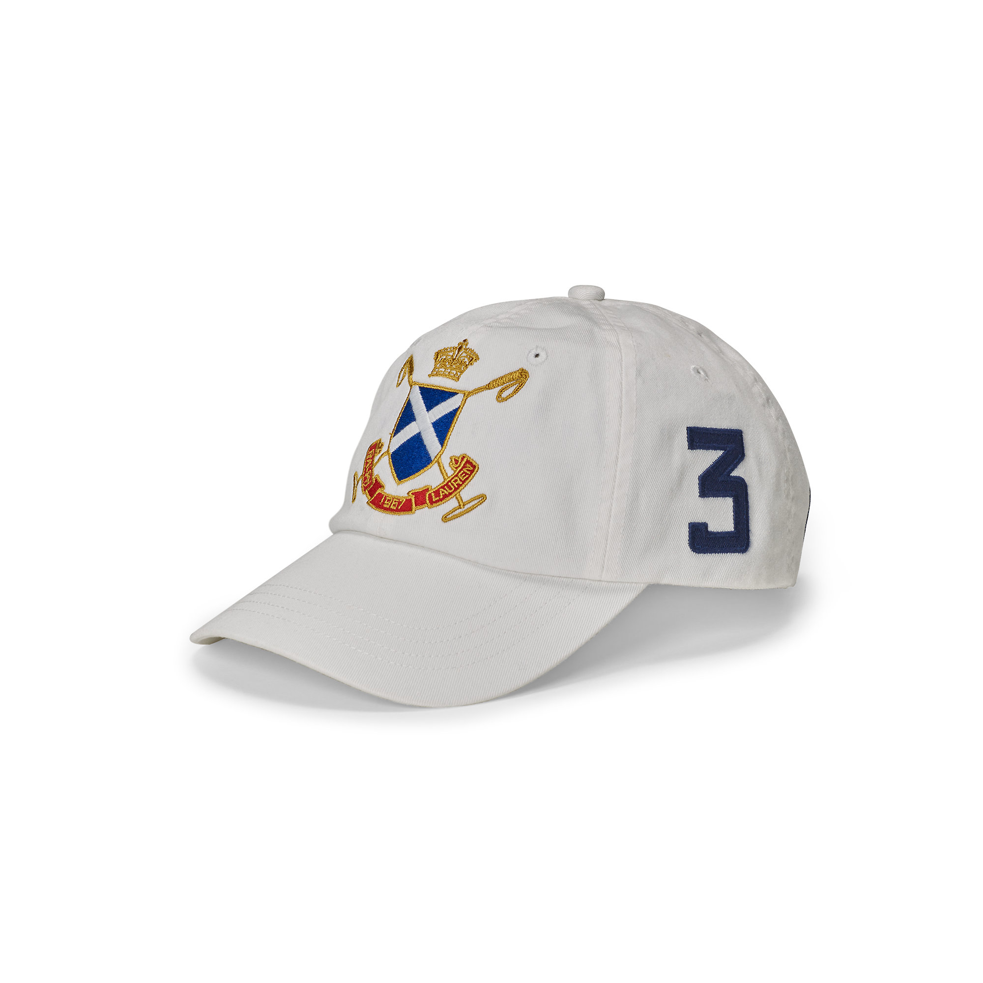 Lyst - Polo Ralph Lauren Blackwatch Cotton Baseball Cap in White for Men 7fbcd83ff99