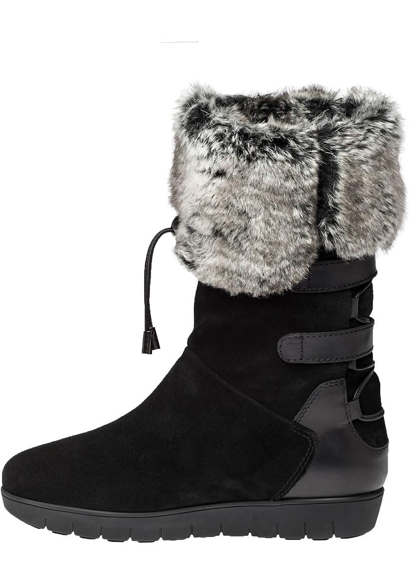 Amazon.com   VFDB Women Mid Calf Boot Suede Faux Fur ...