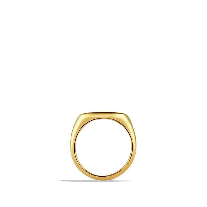 David yurman Pinky Ring In 18k Gold in Gold