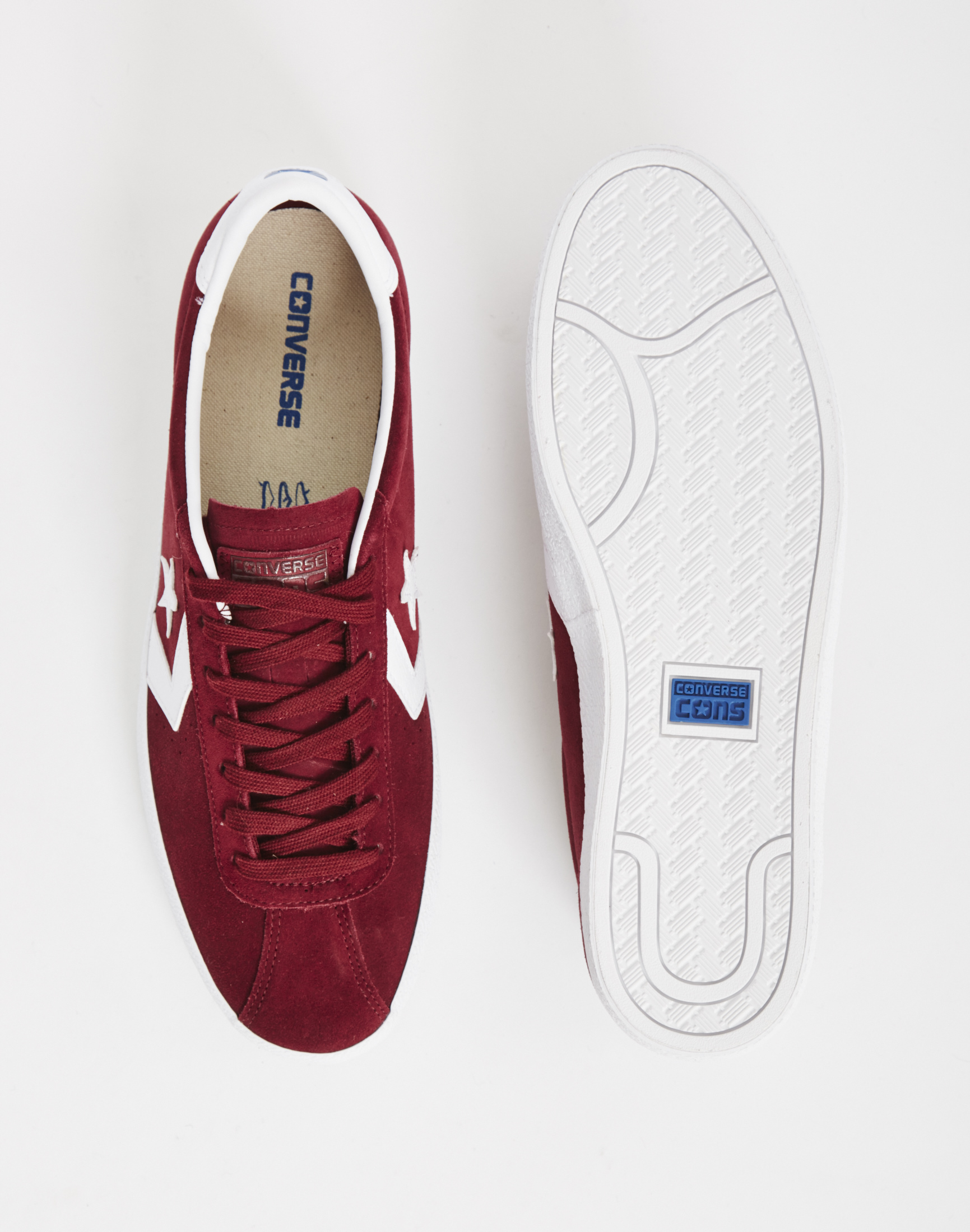 2b62210c0caf Converse Breakpoint Trainer Burgundy in Red for Men - Lyst