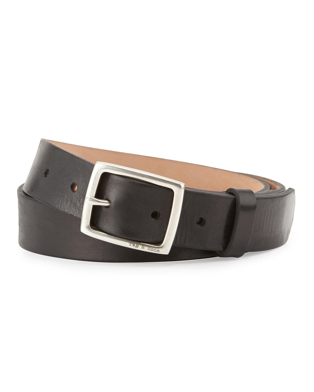 Black Leather Boyfriend Belt Rag & Bone 8WeLdUif4G