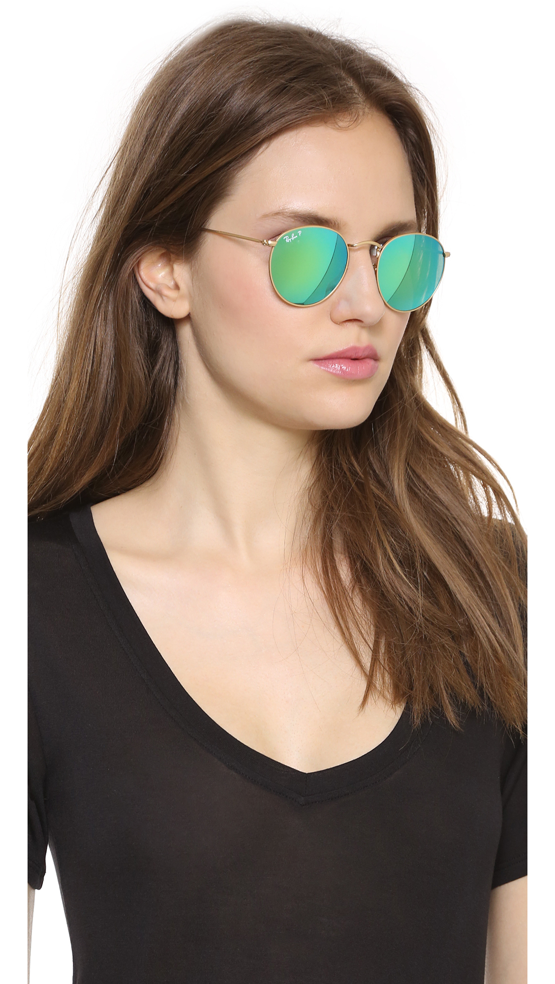 Ed Ray Ban Sunglasses  ray ban mirrrored polarized icons sunglasses matte goldorange