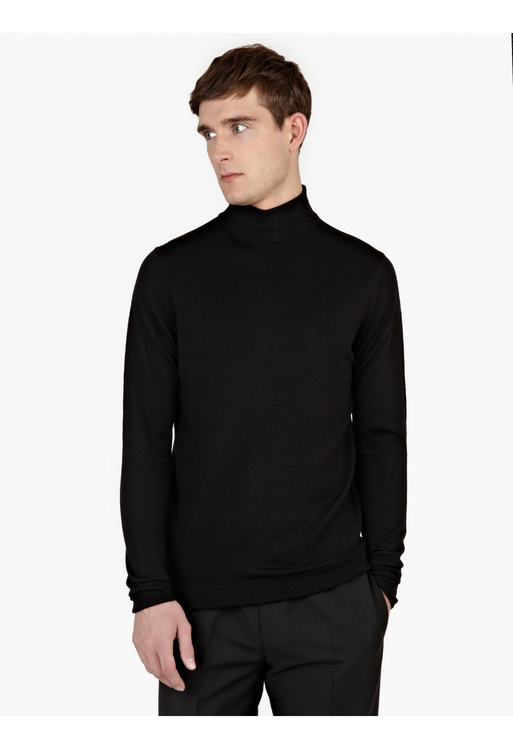 Discover the range of men's turtle and roll neck jumpers with ASOS. From a variety of styles and colours, in merino wool and lambs wool. Shop now at ASOS. Calvin Klein Jeans knitted roll neck jumper with contrast sleeve black. £ Farah Gosforth merino roll neck jumper in sand. £ BOSS Kupetto roll neck wool mix jumper in camel.