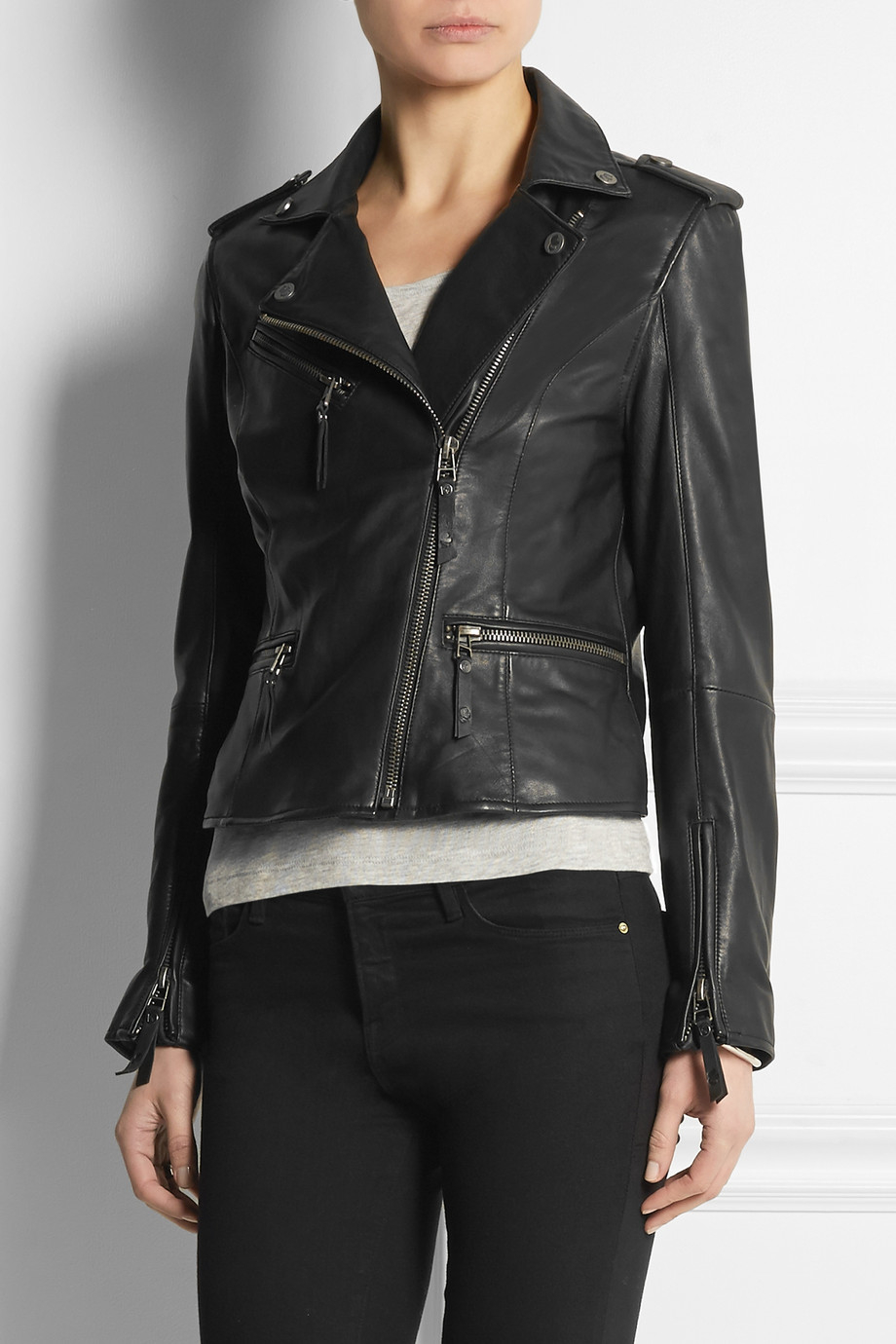 Lagerfeld leather jacket