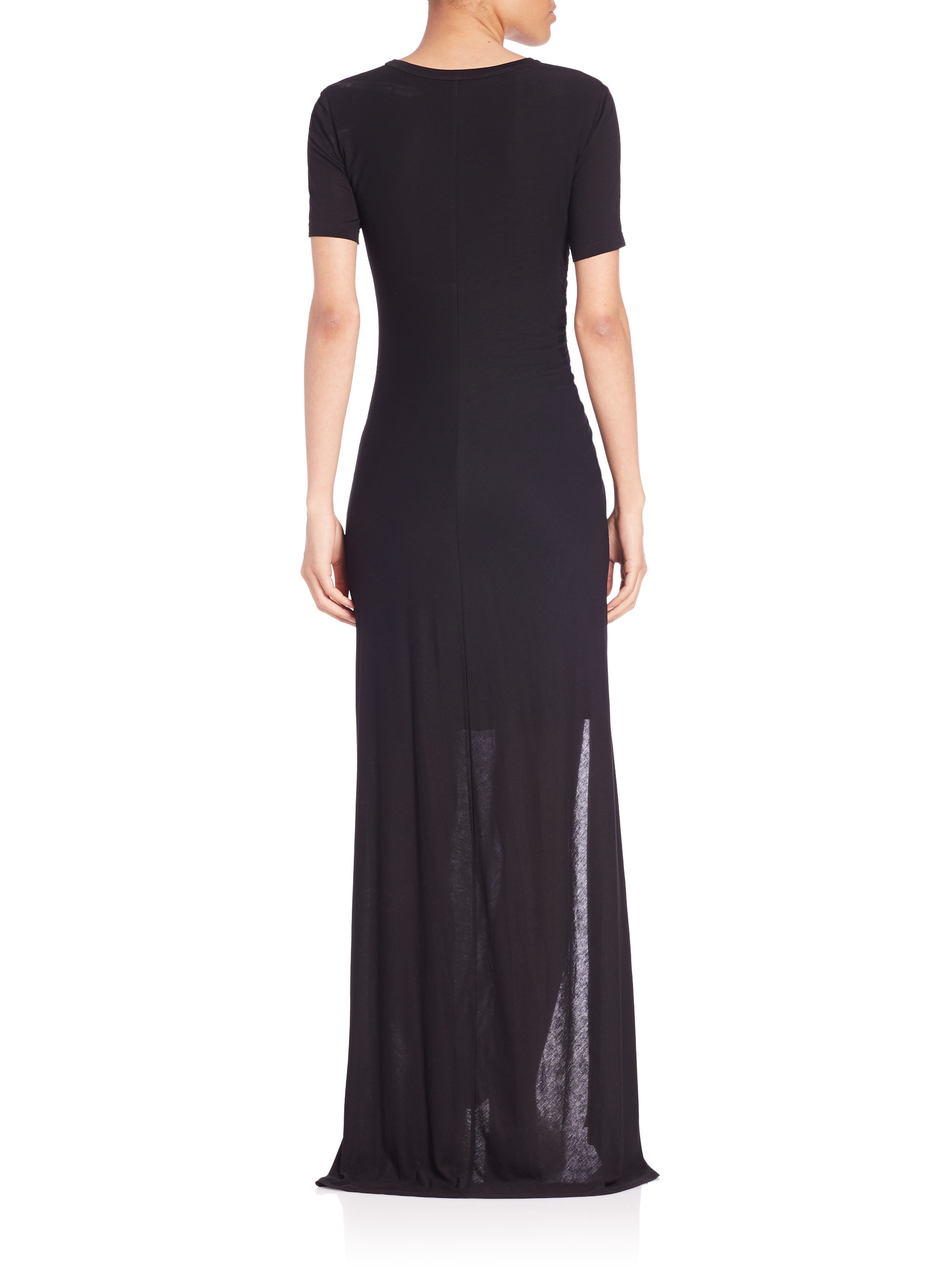 Lyst A L C Laila Maxi Dress In Black