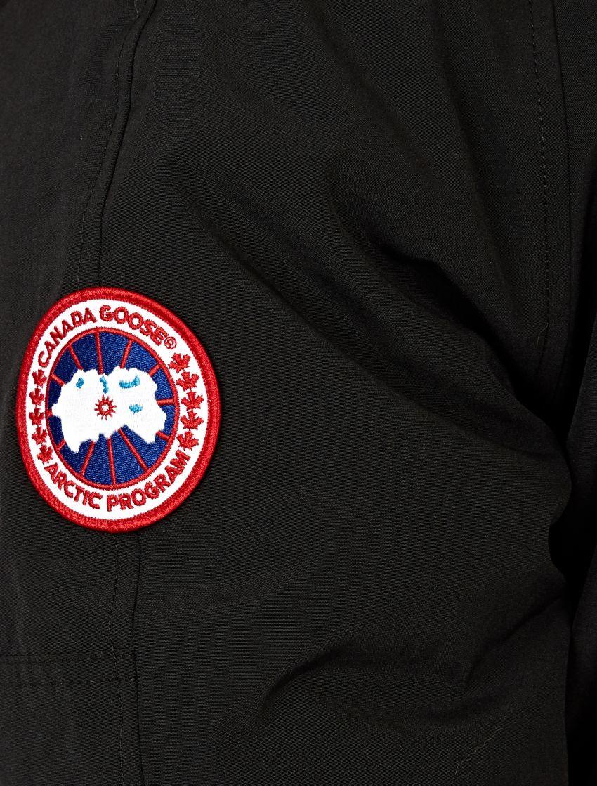 Canada Goose' Men's Chilliwack Coyote Fur-Trimmed Jacket - Black