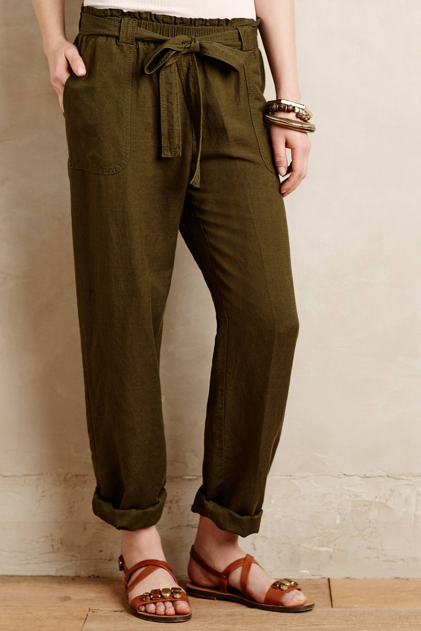 Paper bag trousers - Gallery