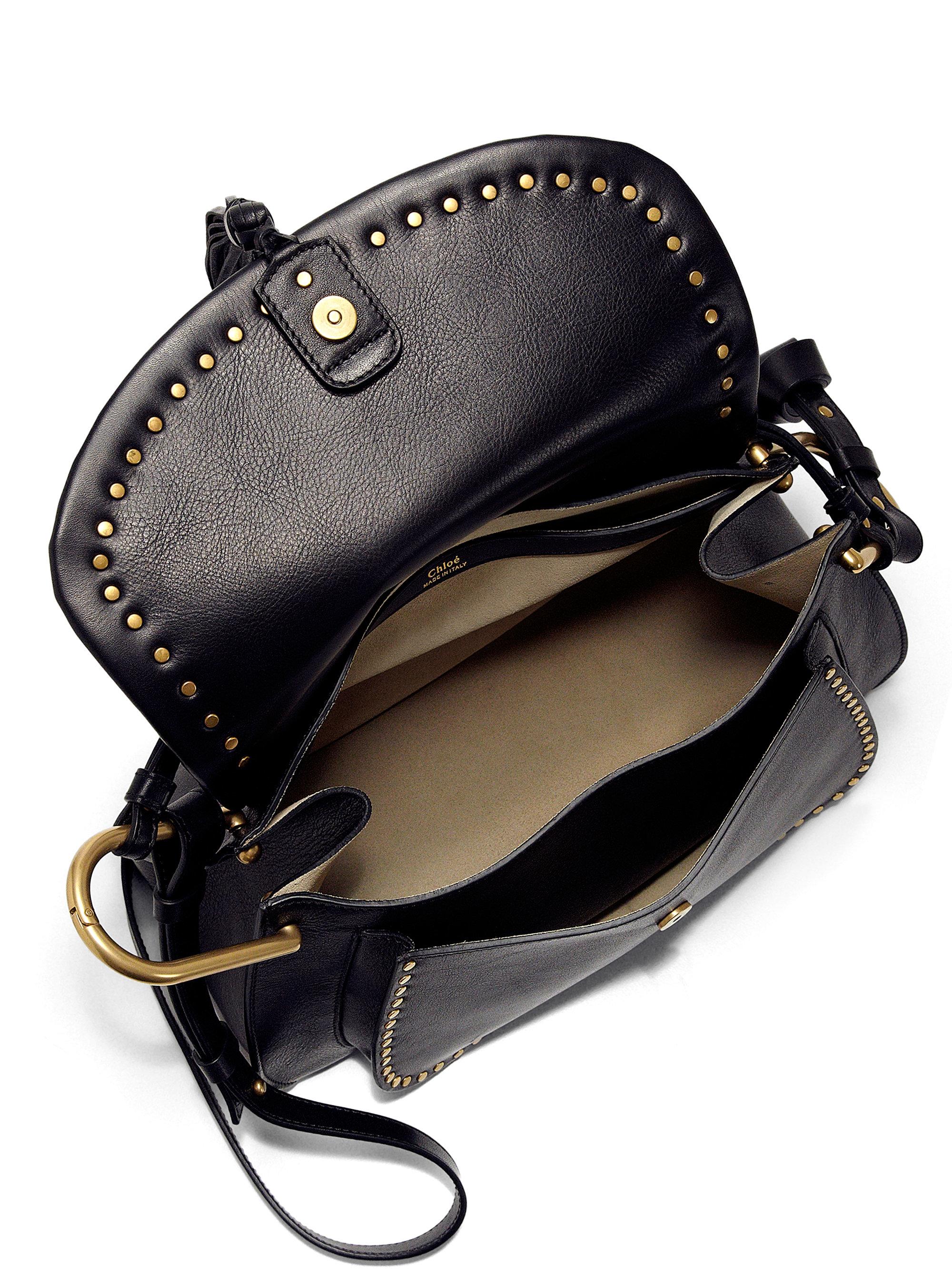 chloe messenger bag marcie - chloe hudson small studded circle leather shoulder bag, knockoff ...
