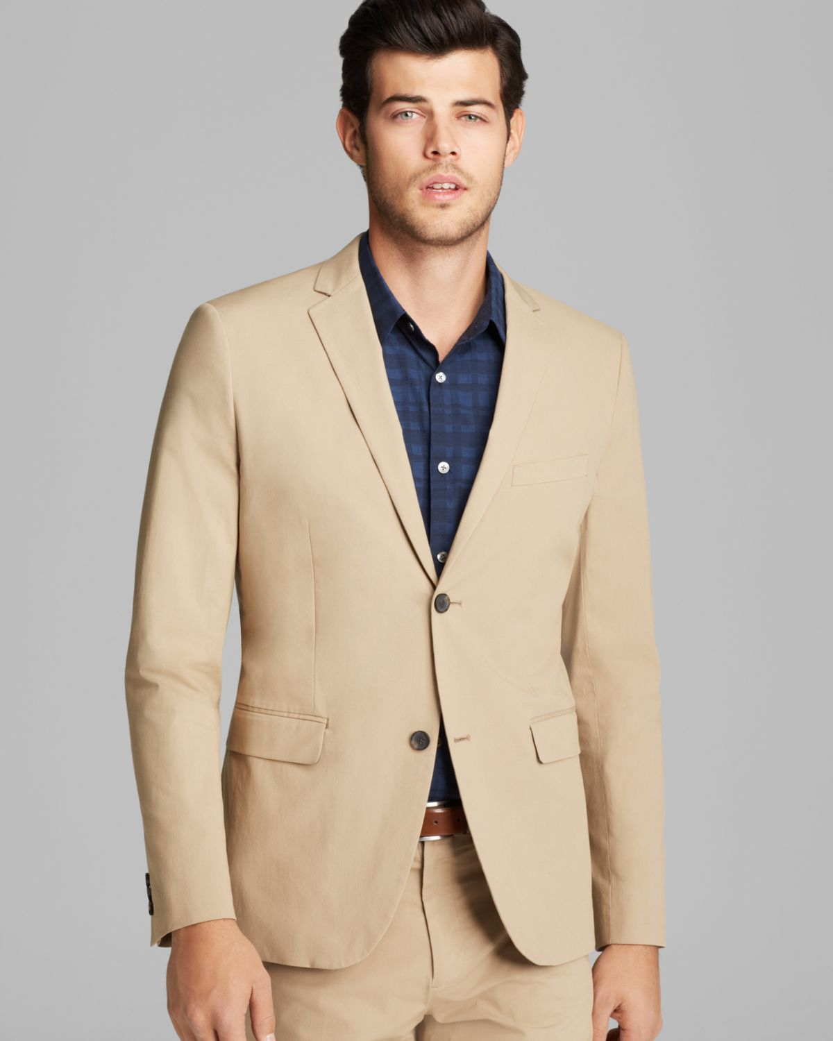 Theory Rodolf Honaker Stretch Suit Jacket in Natural for Men | Lyst
