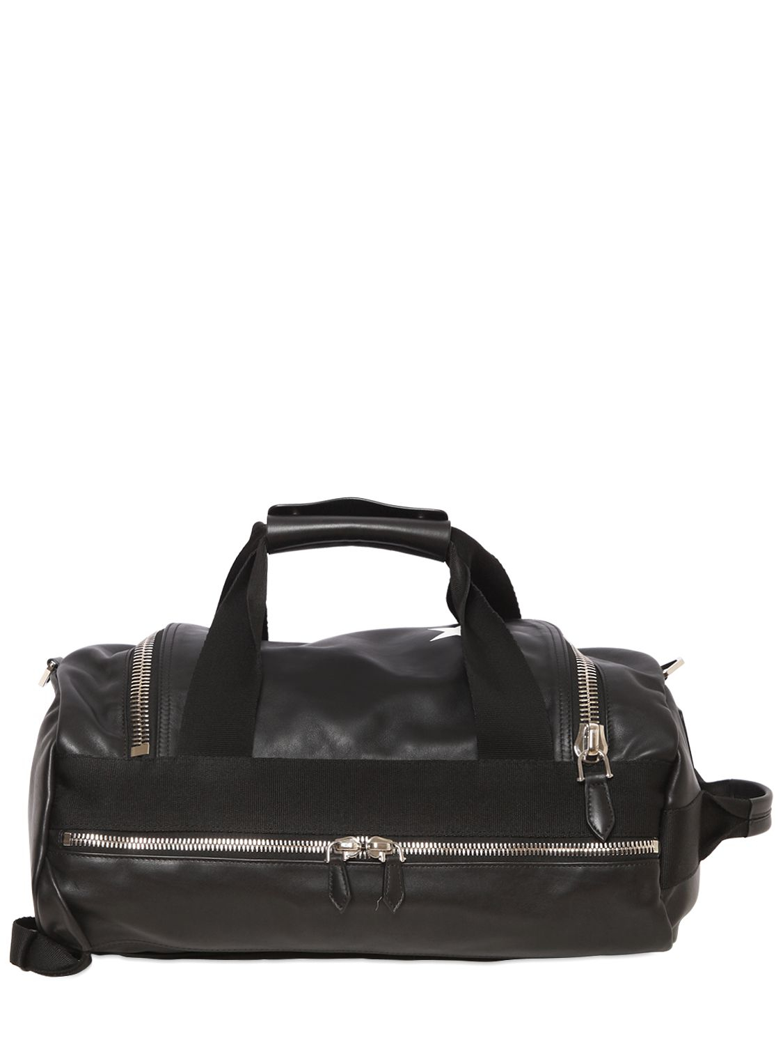 b8398f6717 Givenchy Star Printed Leather Backpack in Black for Men - Lyst