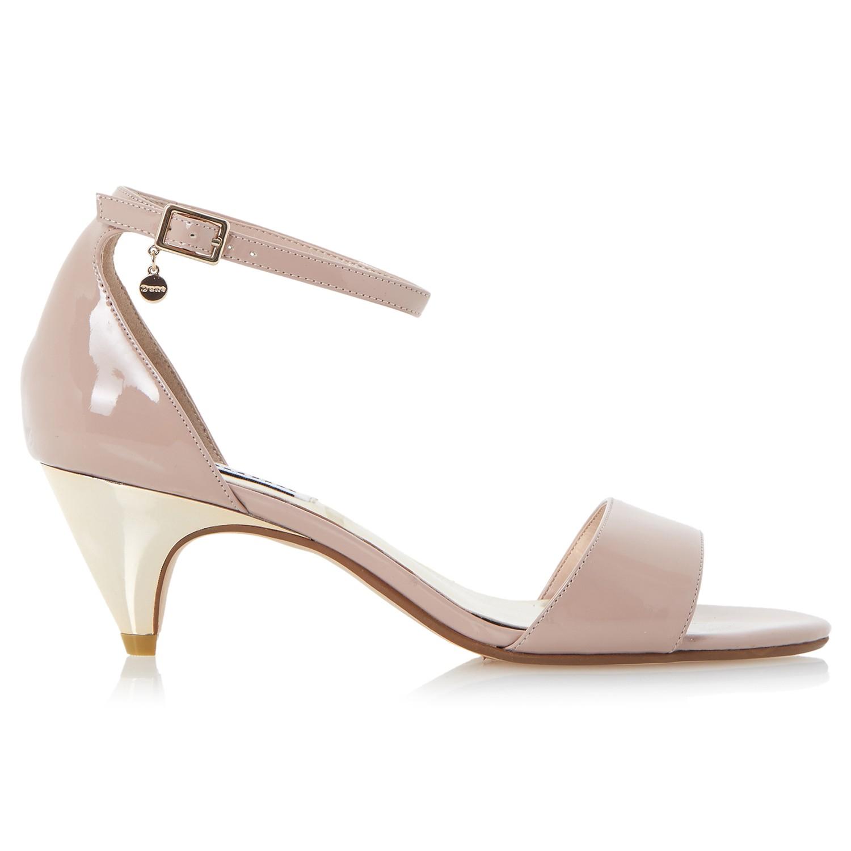 27594c25720 Dune Marina Kitten Heel Two Part Sandals in Pink - Lyst
