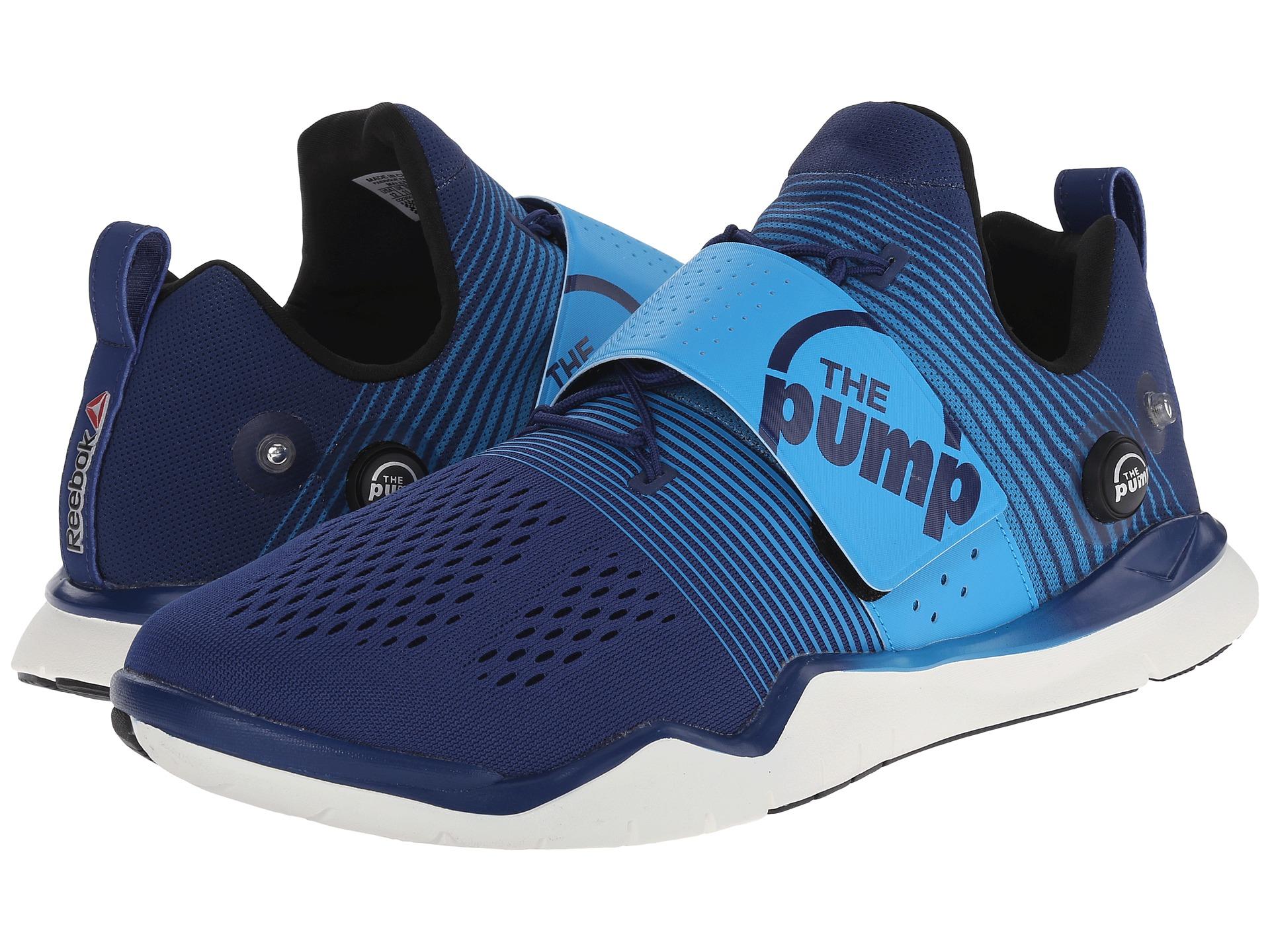 Lyst - Reebok Zpump Fusion Tr in Blue for Men 56f75e986