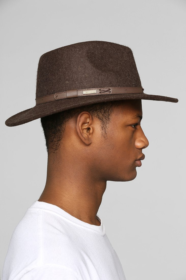 Lyst - Pendleton Indy Widebrim Fedora in Green for Men 22217cfea1d4