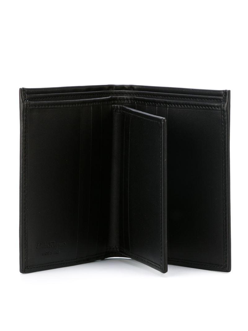 Lyst Ferragamo Billfold Wallet In Black For Men