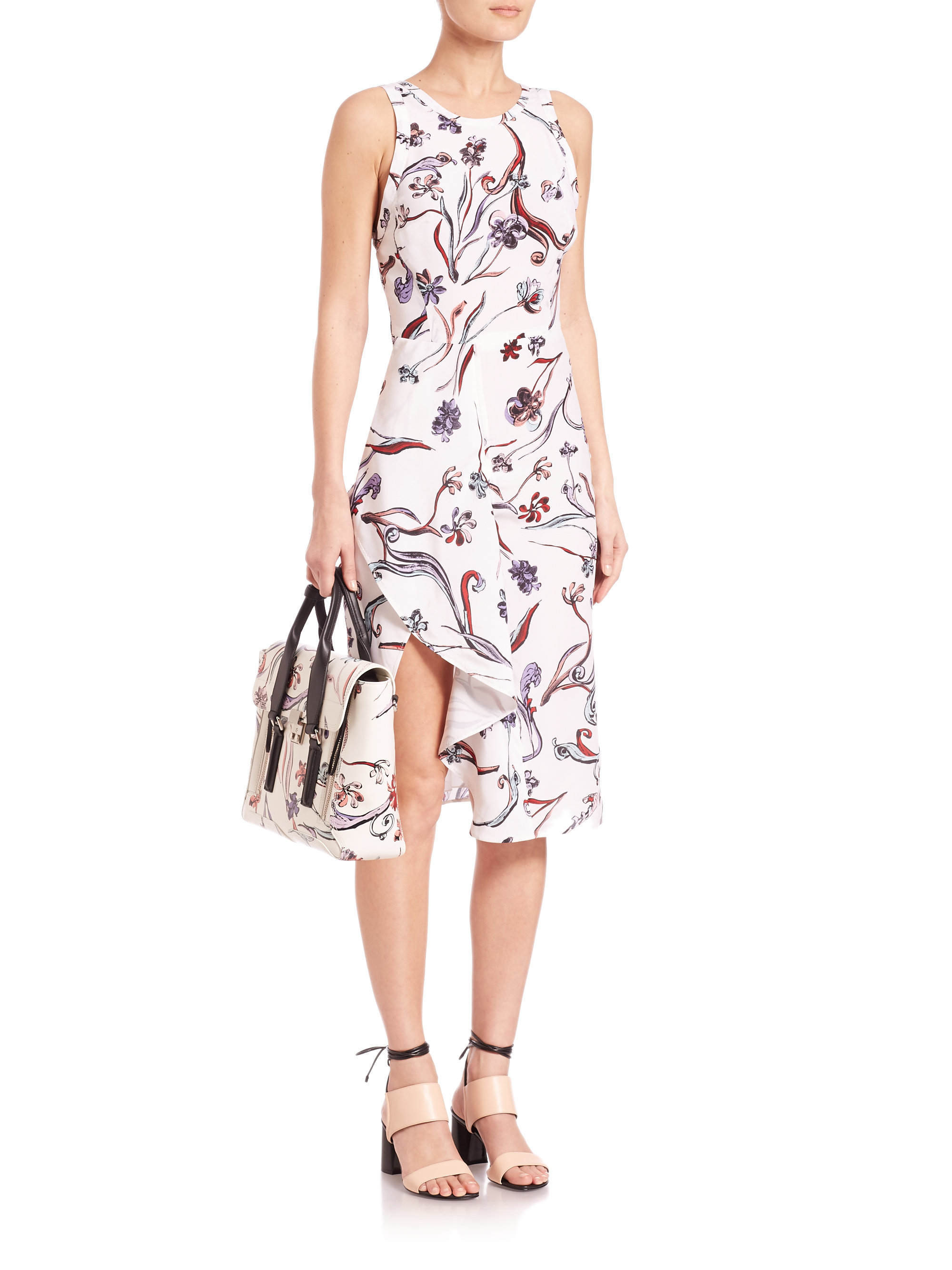 Best Seller For Sale Cheap Prices Authentic 3.1 Phillip Lim Woman Printed Mini Dress Midnight Blue Size 10 3.1 Phillip Lim Cheap Sale High Quality Find Great Online dUwmN0Ddb
