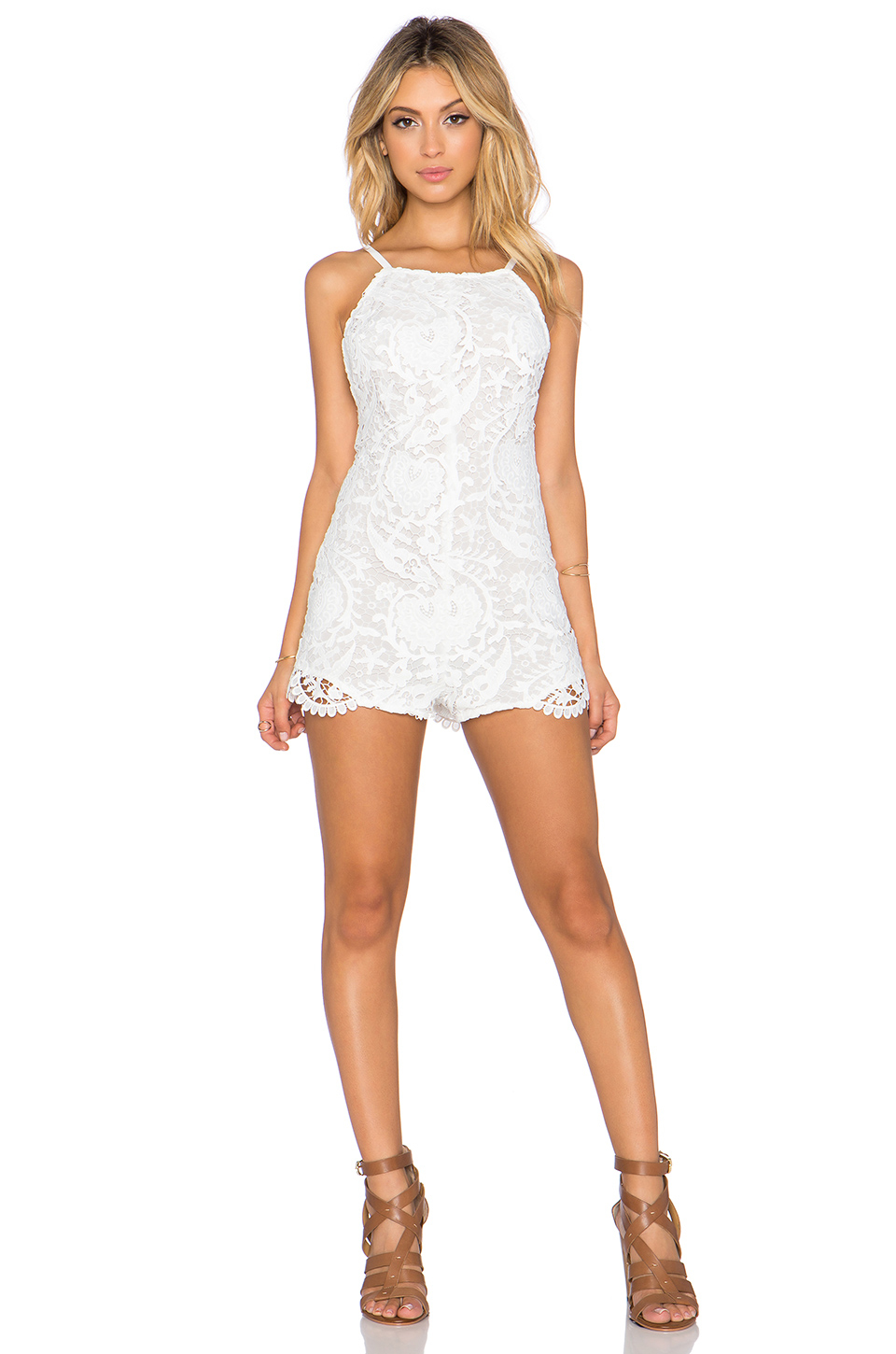 Lyst Stone Cold Fox Ryder Romper In White