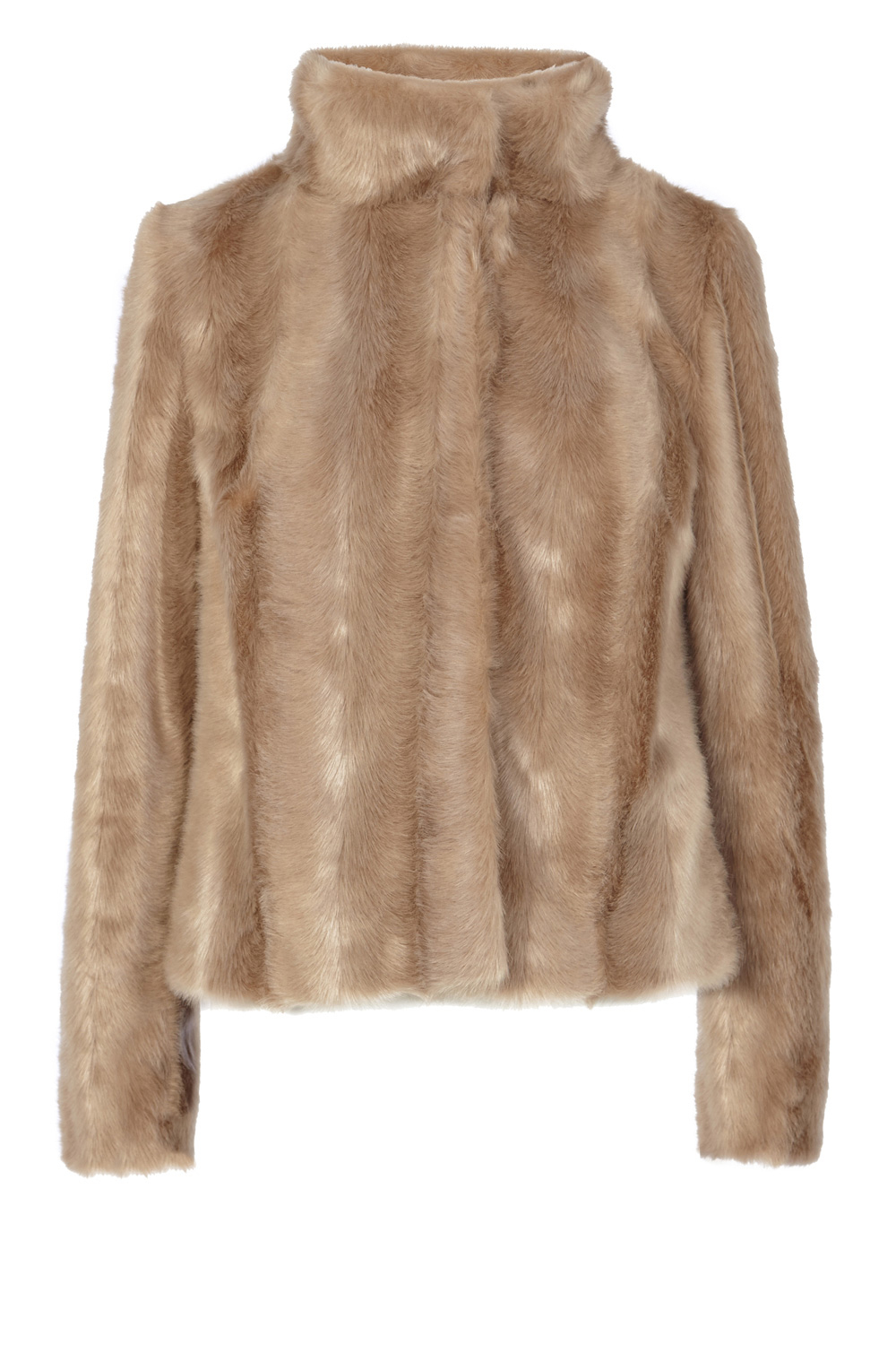 Coast Chelsea Faux Fur Coat in Natural | Lyst