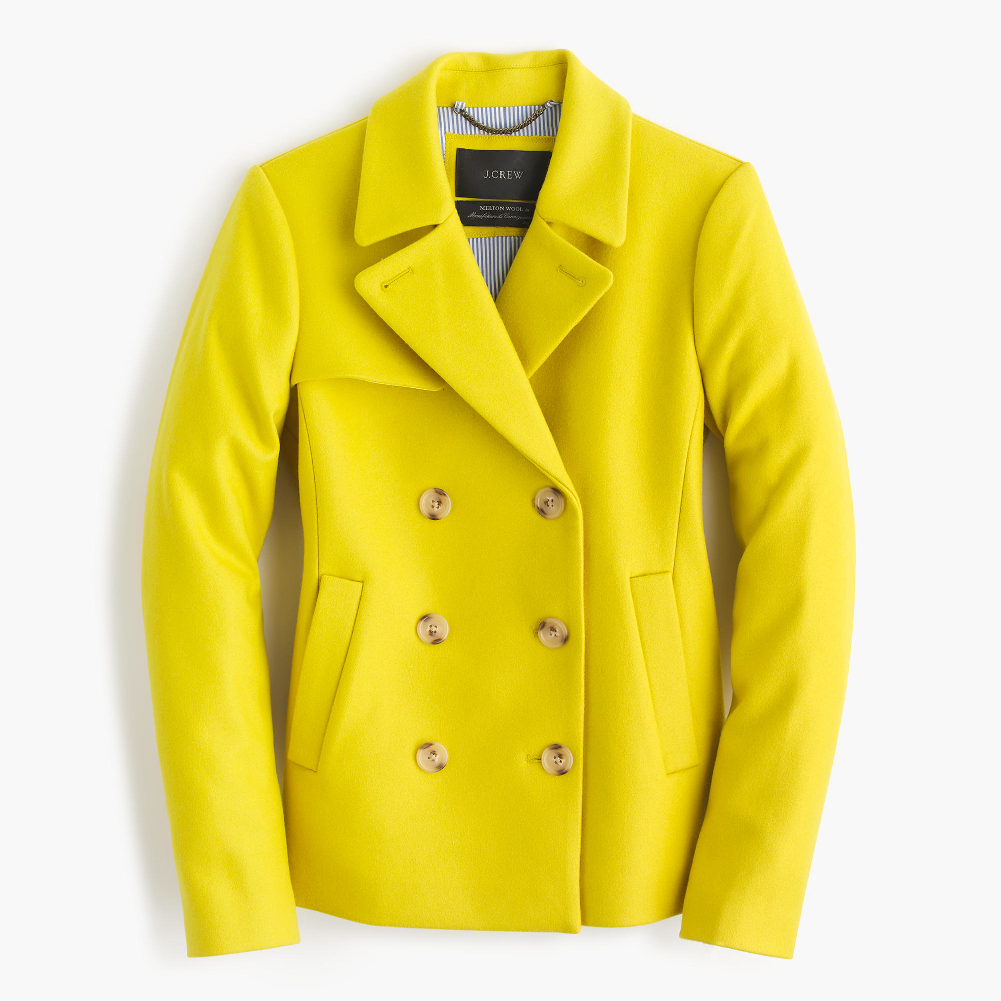 Did you scroll all this way to get facts about yellow pea coat? Well you're in luck, because here they come. Well you're in luck, because here they come. There are 38 yellow pea coat for sale on Etsy, and they cost $ on average.