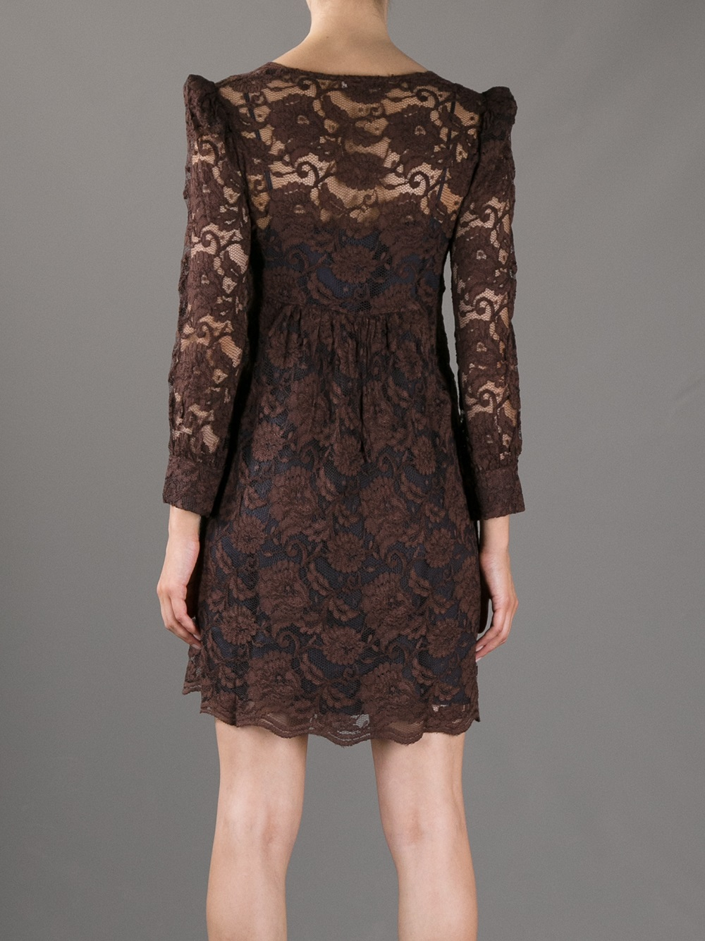 to wear - Lace brown dresses video