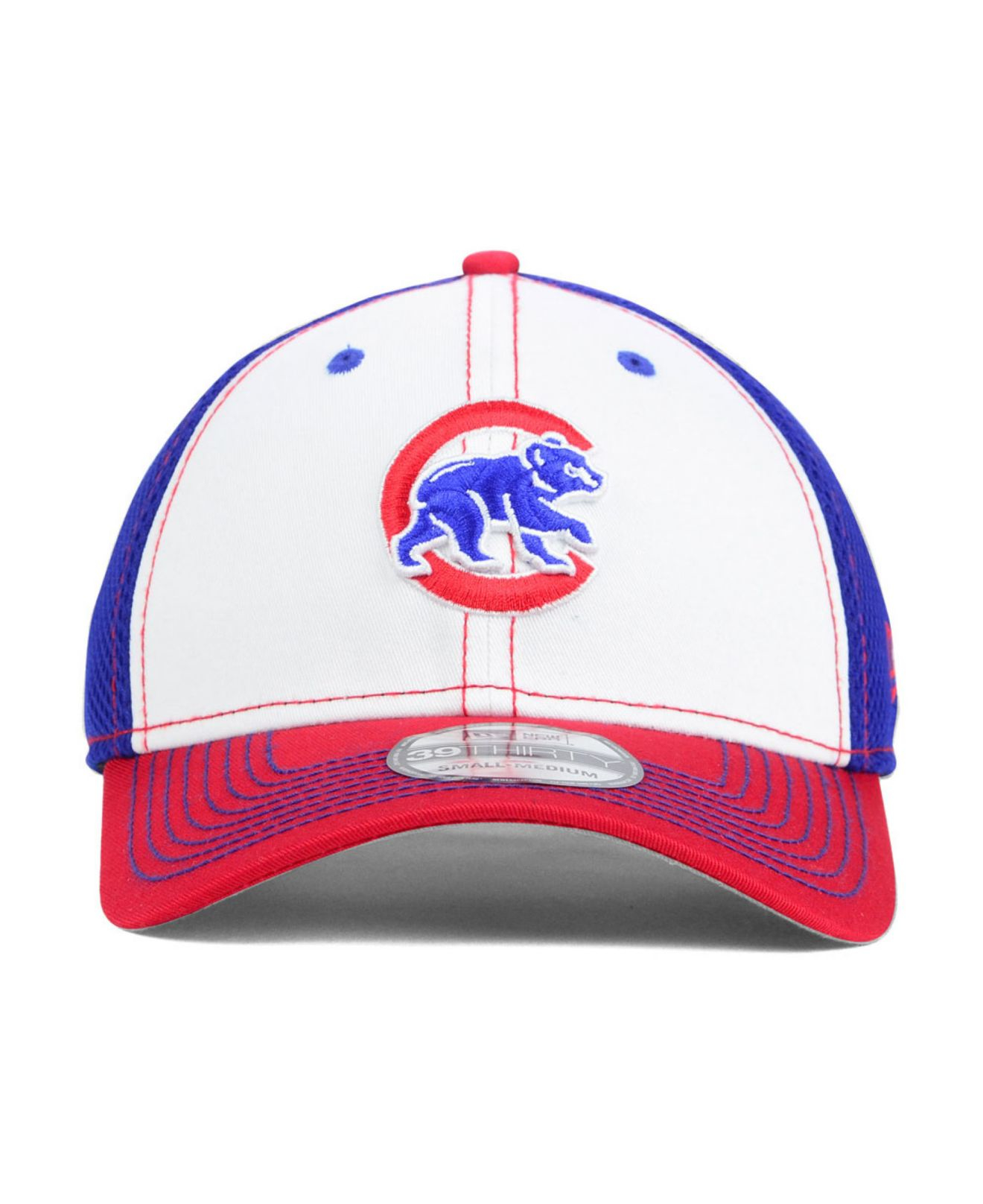 best service f5c96 b0ae2 ... coupon code for lyst ktz chicago cubs neo 39thirty cap in white for men  c2625 c94c6