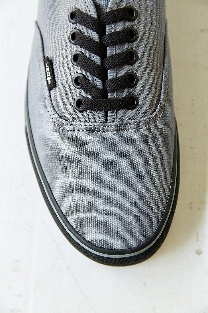 3b9f781bf31 Lyst - Vans Authentic Black Sole Men S Sneaker in Gray for Men