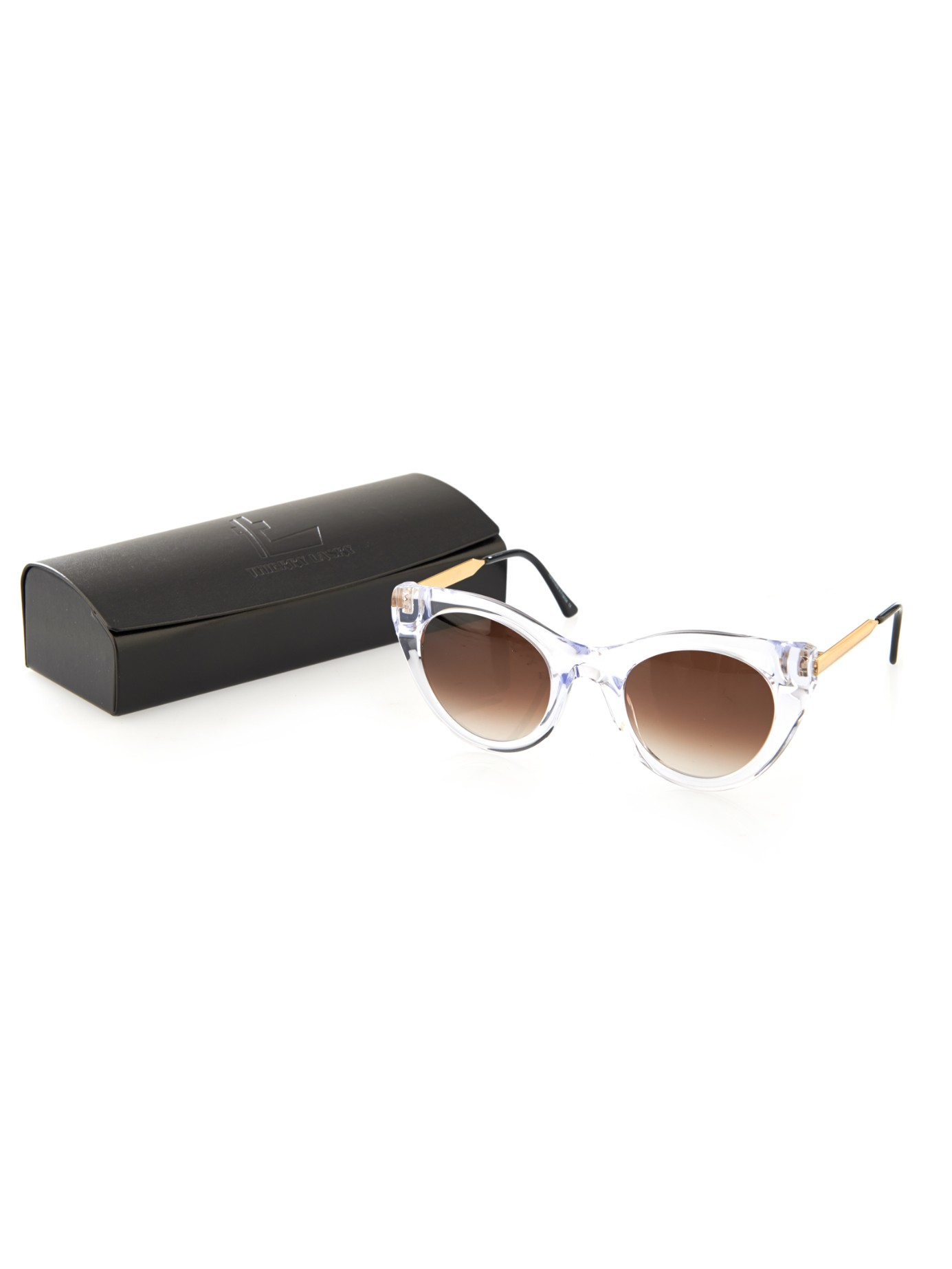 f3bd17a0ad Lyst - Thierry Lasry Perky Cat-eye Sunglasses