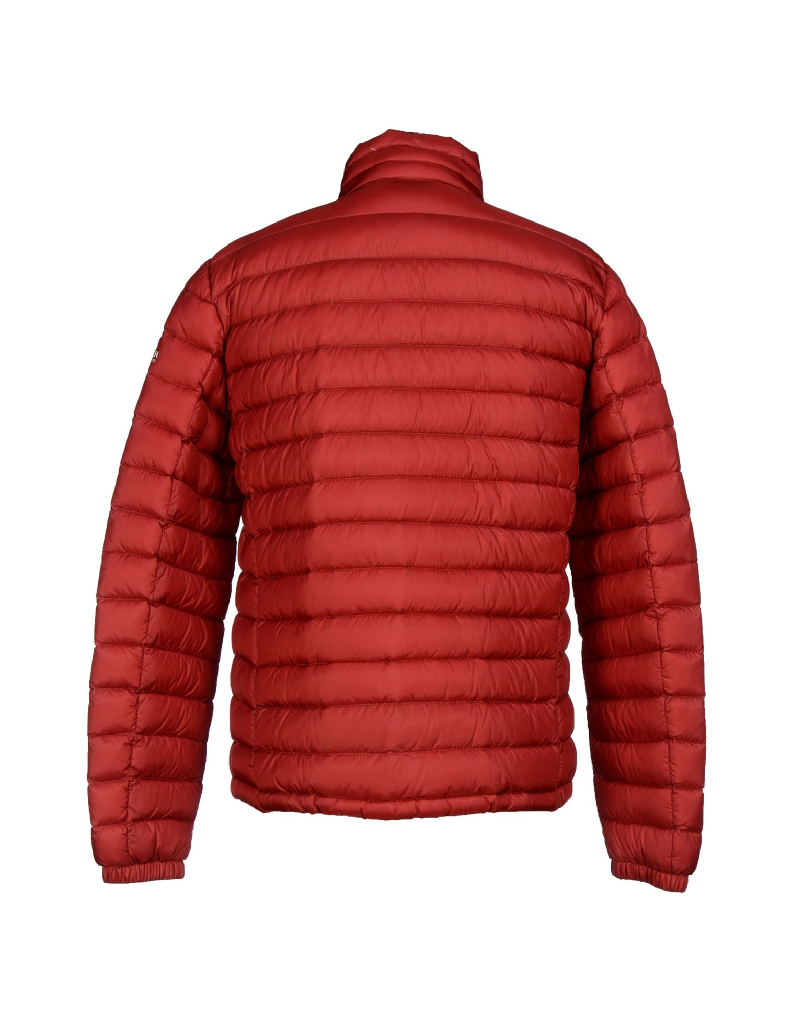 woolrich down jacket in red for men lyst. Black Bedroom Furniture Sets. Home Design Ideas
