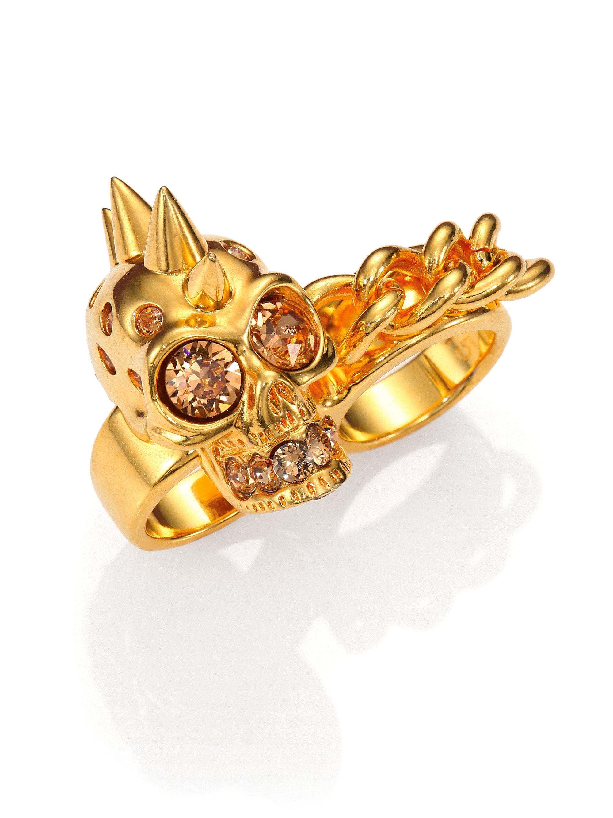 Alexander McQueen Multi-finger ring VEAHhr