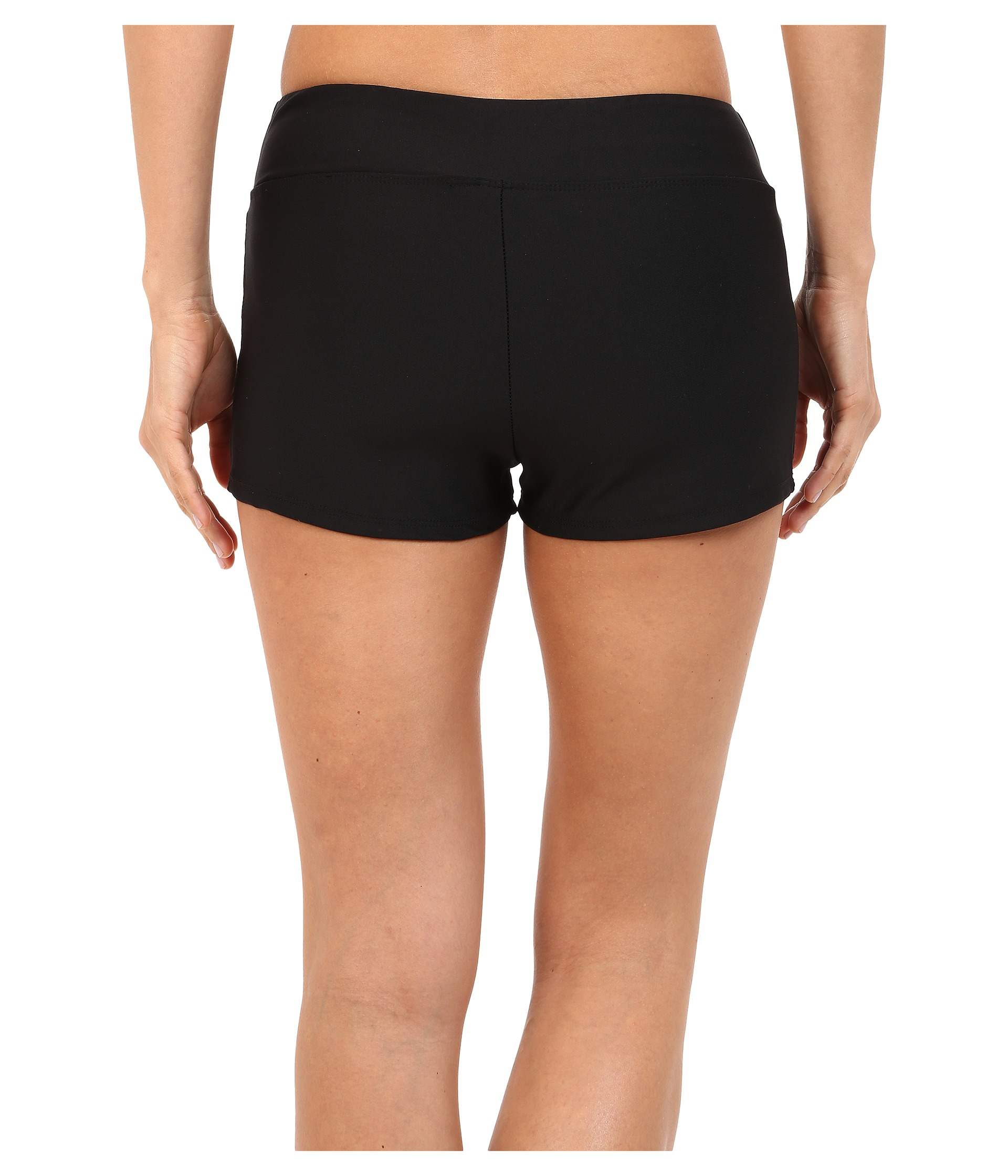 7e237355ec Next By Athena Inner Glow Jump Start Swim Shorts in Black - Lyst