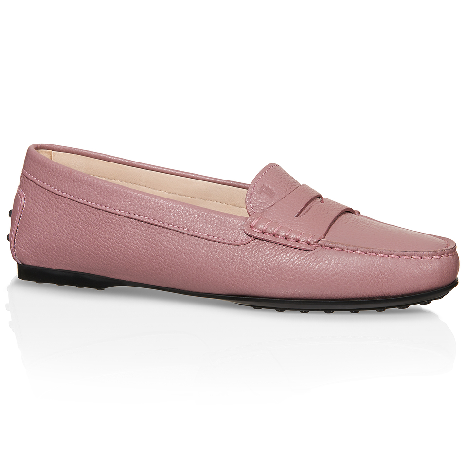 Tod S City Gommino Leather Loafers In Multicolor Lyst