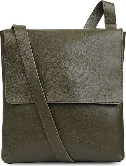 d04a7b0a75 ... greece mulberry reporter leather cross body bag for women in green lyst  b2379 713ae