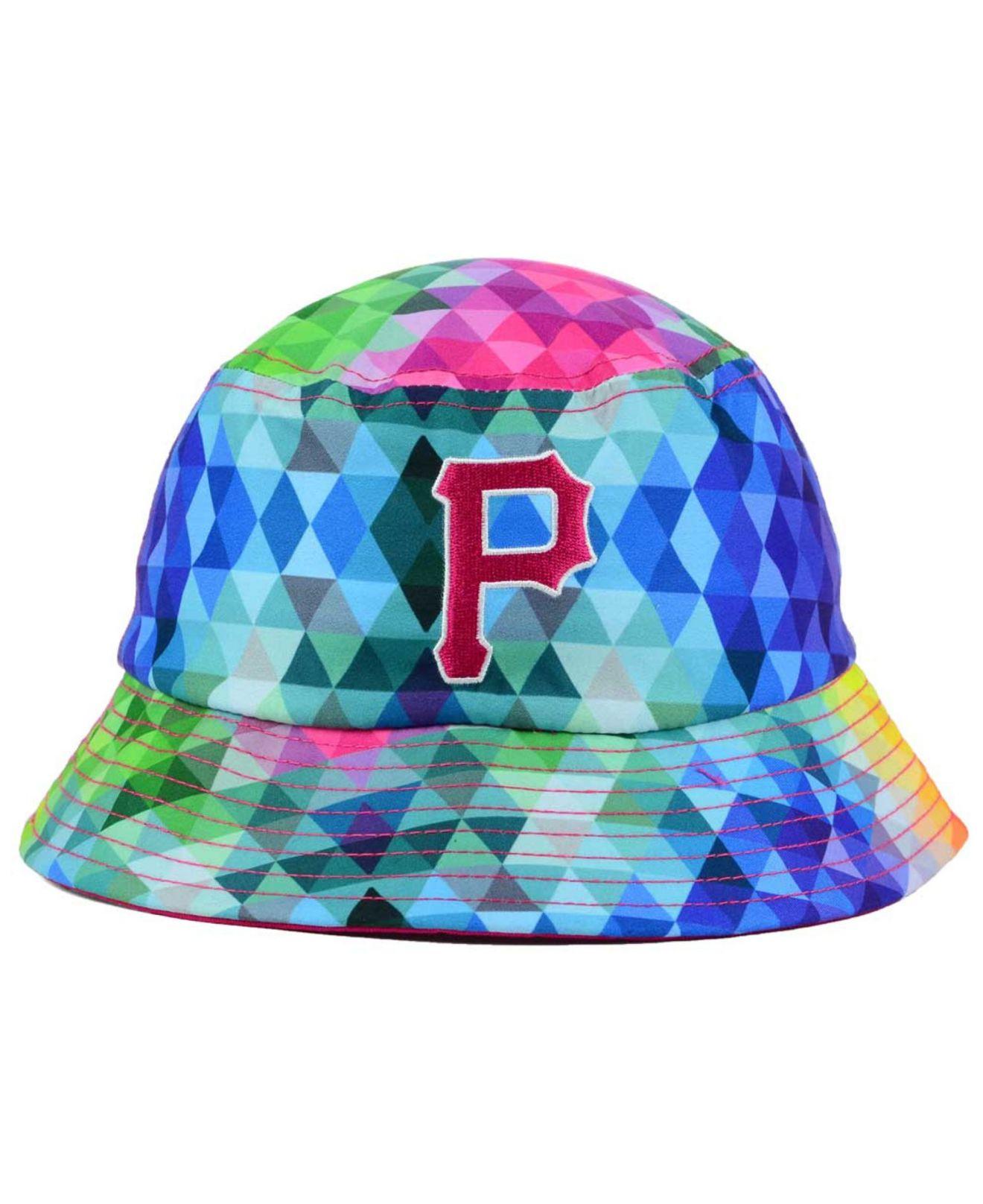 657279e9cc3 ... best price lyst ktz kids pittsburgh pirates gem bucket hat 823df e3074