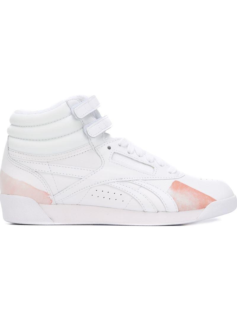 9db3ea11fac3 Lyst - Reebok Face Stockholm X  freestyle Hi Spirit  Hi-top Sneakers ...