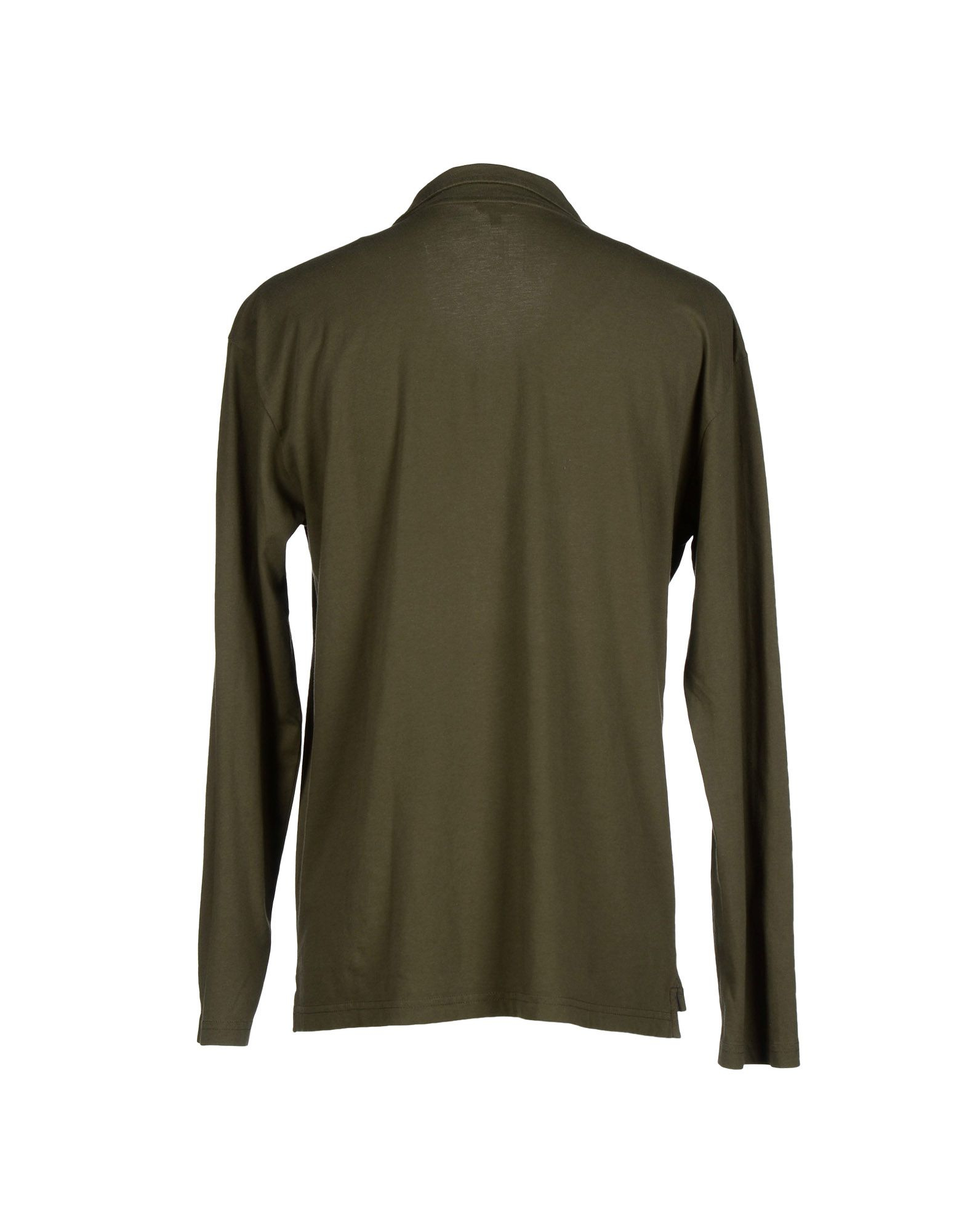 armani t shirt in green for lyst