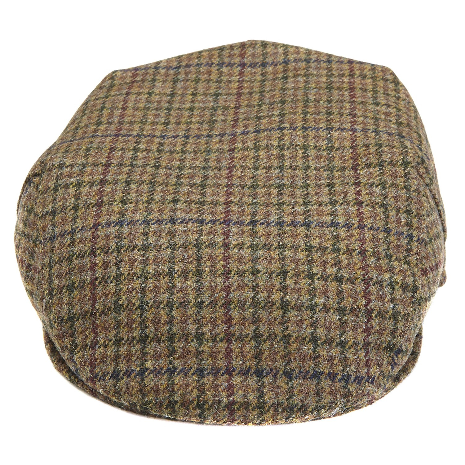 198934960ce Barbour Wool Crieff Check Flat Cap in Green for Men - Lyst