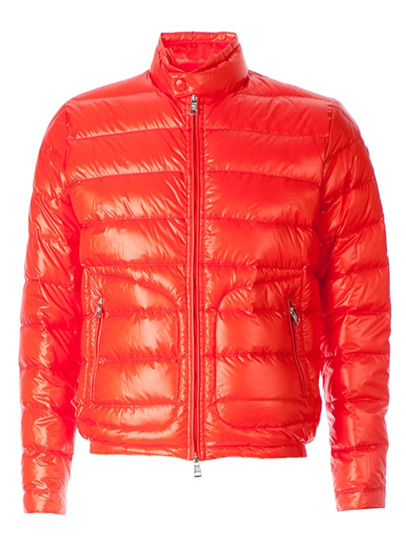 Lyst Moncler Acorus Padded Jacket In Red For Men