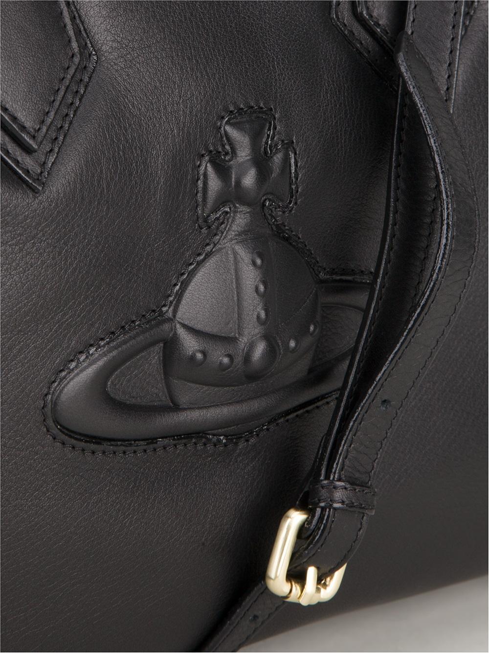 db3fd5fb61a Vivienne Westwood Chelsea Day Bag in Black - Lyst