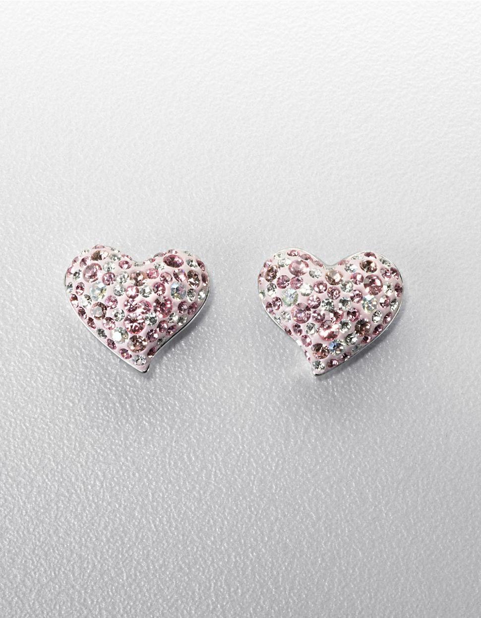 683b6b140 Swarovski Alana Pink Heart Earrings Best All Earring Photos. Swarovski  Pierced Earrings 993487 Alana Heart Piercing